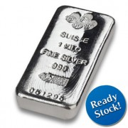 PAMP Suisse 1 KG Silver Bar 999 with Assay Certificate