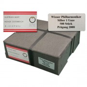 2012 Austrian Philharmonic 1 oz Monster Box of 500 Silver Coins