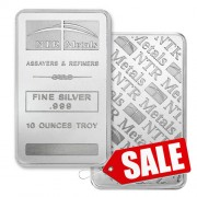 NTR 10 oz Silver Bar 999