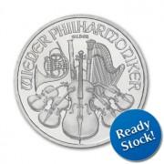 2012 Austrian Philharmonic 1 oz Silver Coin