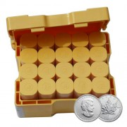 2012 Canadian Maple Leaf 1 oz Monster Box of 500 Silver Coins 999
